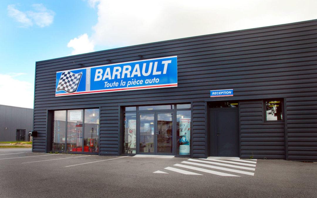 Barrault, membre de notre associé TF, poursuit son développement et pense à automatiser une partie de ses stocks
