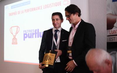 Purflux remporte le trophée de la performance logistique