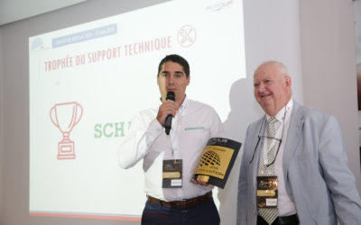 Schaeffler remporte le trophée du support technique